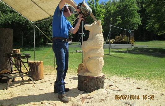 Craig Wright Ent. Adirondack Chainsaw Carvings